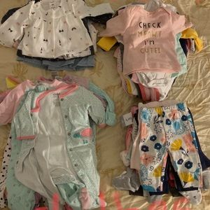 Other - Baby girl Newborn clothes lot